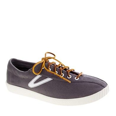 Get on my feet.Jcrew Nylit, Casual Shoes, Canvas Sneakers, Crew Tretorn, Sneakers Thestylecurecom, Nylit Canvas, Shoes Sneakers, J Crew Nylit, Canvases