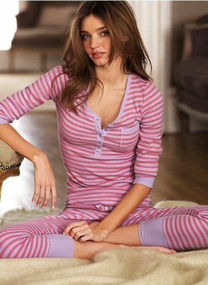 I want these...would prefer to look like Miranda in them too... victoria secret pajamas