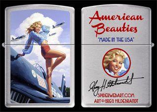Made in the USA - Zippo Lighter, Greg Hildebrandt