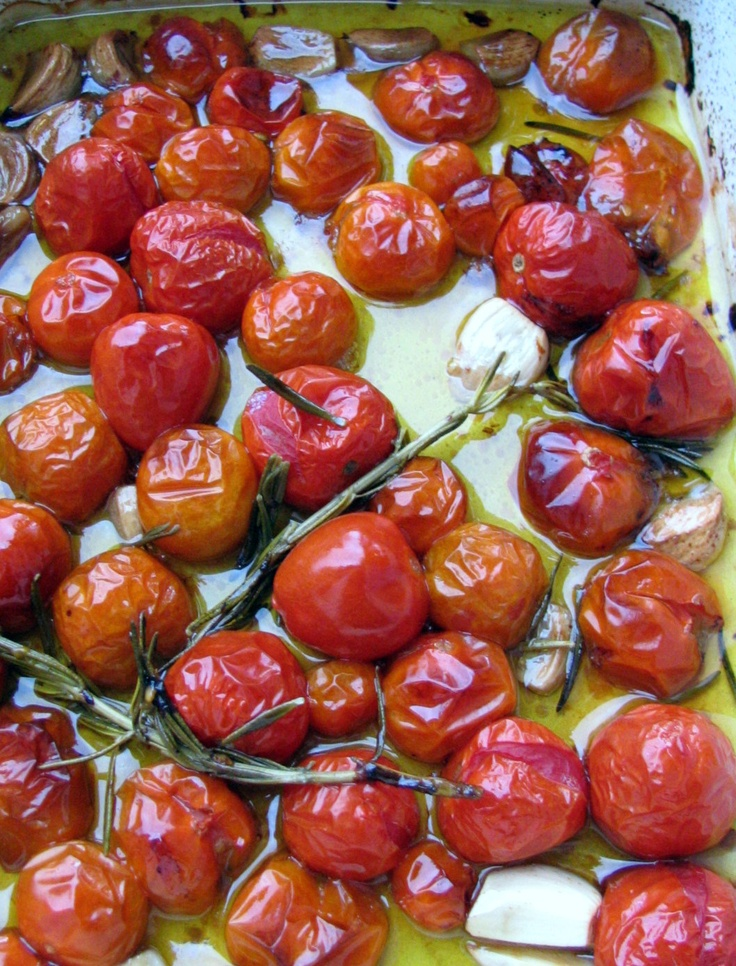 Tomato Confit - We had tomato confit at the Chef's Table and it was so ...
