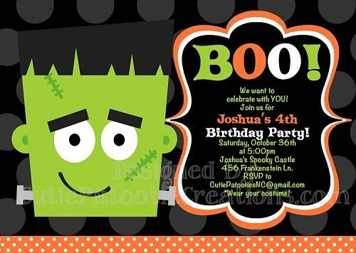 halloween party invitation online