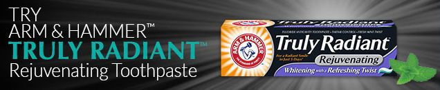 Freebies Offer: FREE Arm & Hammer Truly Radiant Toothpaste Sample