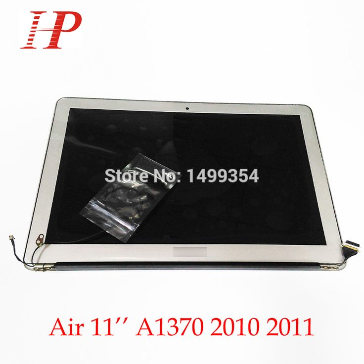 100% Genuine New 2010 Year A1370 LCD Screen Assembly For Apple Macbook Air 11'' A1370 LCD Assembly 1366*768 MC505 MC506 #Affiliate