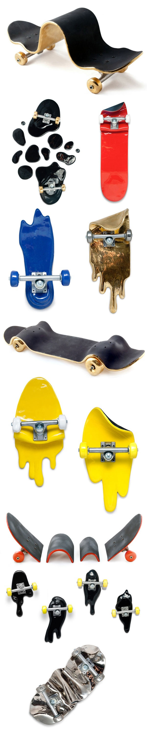 Skateboard clip art images skateboard stock photos amp clipart - Apparatu X Alex Trochut Skate Fails