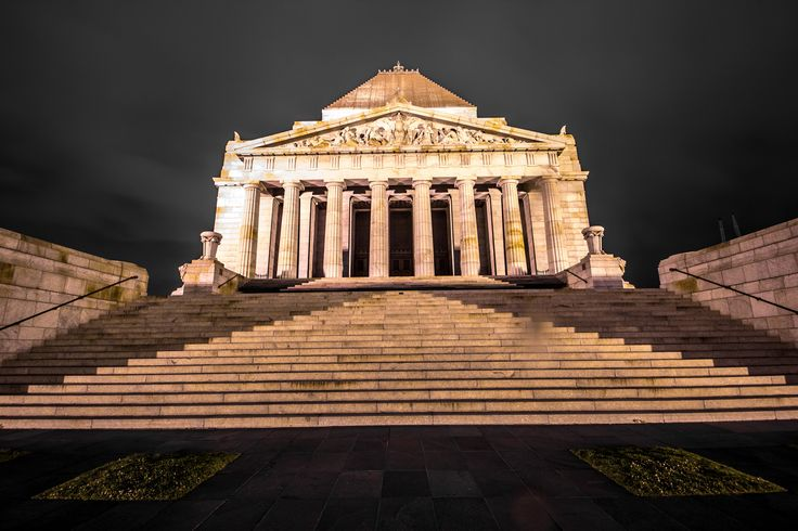 The Shrine of Remembrance, Melbourne, Vic