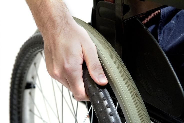 New wheelchair push rim - enables users with little ...