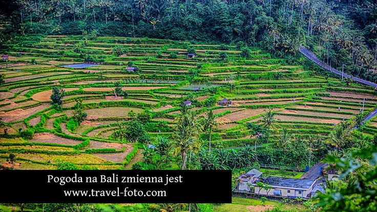 Pogoda na Bali zamienna jest