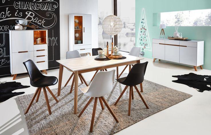 Ber ideen zu esstisch massivholz auf pinterest schlafcouch tisch rund wei und esstische - Esstische aus massivholz ideen ...