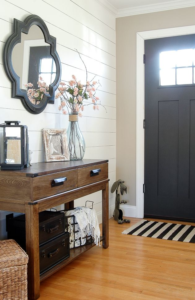 High Contrast Paint Colors Of My Little House Wall Color Foyer