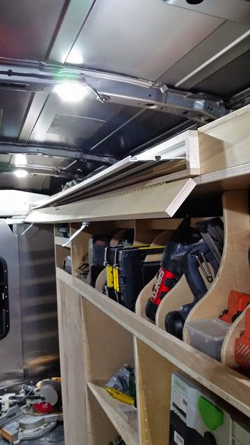 2015 Ford transit racking