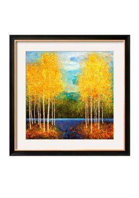 Art.com Multi Inlet Grove by Melissa Graves-Brown Framed Art Print