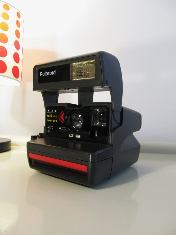 Camera Polaroid 636 Close Up TALKING CAMERA UK Version by LaLanterne on Etsy