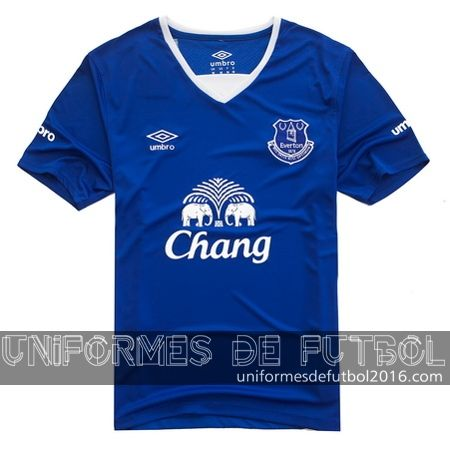 Venta de Jersey local para uniforme del Everton 2015-16