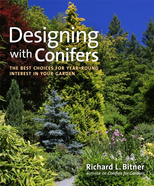 designing with conifers the best choices for year round interest in your garden richard l bitner excellent resource for both beginners or seasoned