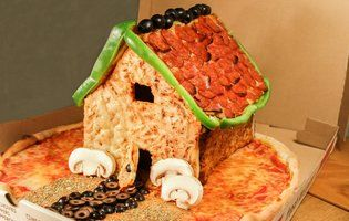 Screw Gingerbread. Behold the Pizza House. - Thrillist