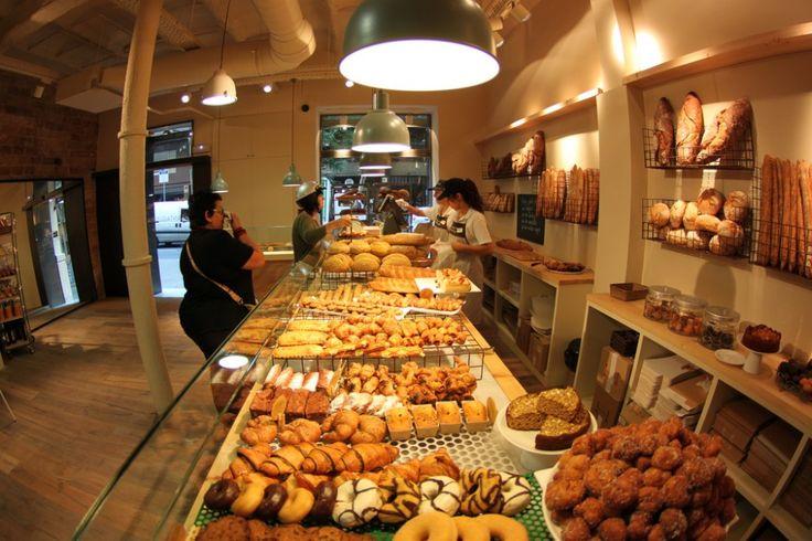 Una panadería Santagloria
