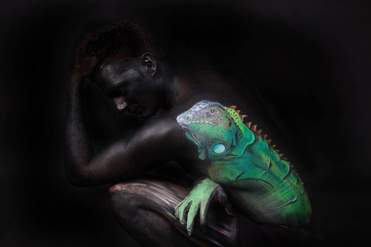Incredible Body Paintings By Gesine Marwedel Transform People Into - Amazing body art transforms people animals human organs