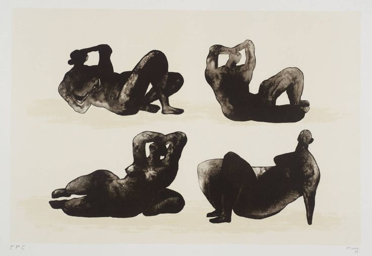 Henry Moore, Hommage à Picasso, 1973/4