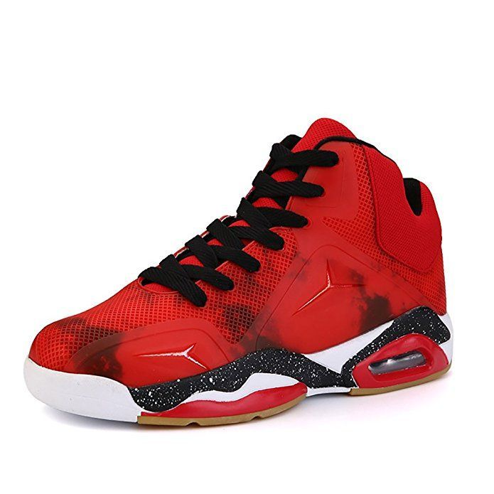 No.66 Town Men's Performance Air Shock Absorption Running Shoes Sneaker Basketball Shoes Size 10 Red - mens dress shoes sale, cheap mens shoes online, mens business shoes