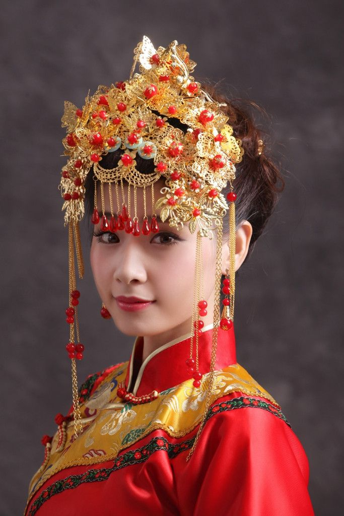 70b7f73734b64756b8b4af1e4b59cb28--chinese-bride-bridal-crown Asian Wedding Dress Glasgow