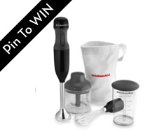 Ubokia PIN IT TO WIN IT!! Kitchen Aid 3 in one Immersion Hand BlenderUbokia Pin, Immersion Hands, Mine Broke, Hands Blenders, Book Worth, Vacations Time, Kitchens Gadgets, Fingers Crosses, Kitchens Aid