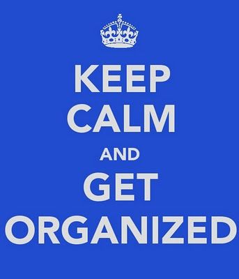 Keep Calm and ... #keep_calm #organization  I know someone that would LOVE this @Nickole Walton