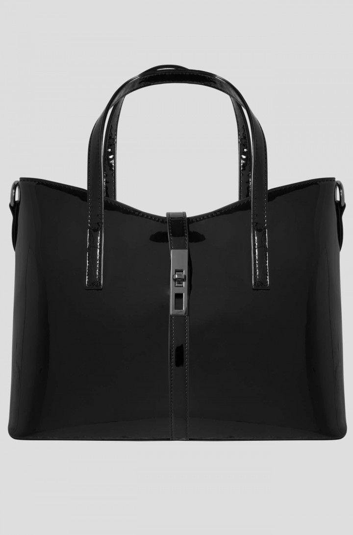 Lakkozott városi táska | ORSAY