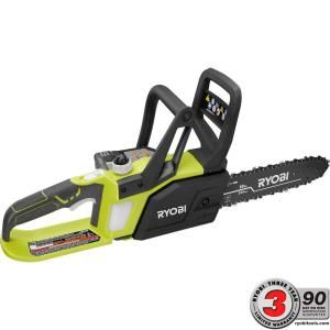 Ryobi ONE+ Lithium+ 10 in. 18-Volt Lithium-Ion Cordless Chainsaw P547 at The Home Depot - Mobile