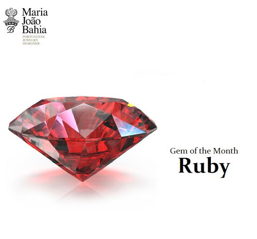 Did you know that 'rubeus' or 'ruber' is the gem of the month of July? Mostly known as Ruby, it is one of the most sought out gems with a great symbolism which can be preferred to the diamond. Due to its colour, it is often associated with passion, loyalty, strength and careeners. It is a gem that symbolizes power, having accompanied many warriors in their battles. @Maria João Bahia #authorjewelry 'elegance is an attitude' #joiasdeautor #30anniversarymariajoaobahia #DJWE16…