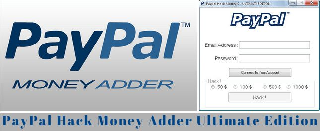http://www.latesthackingsoftwares.com/paypal-money-adder-for-free-online-shopping/  PayPal Hack Money Adder Ultimate Edition