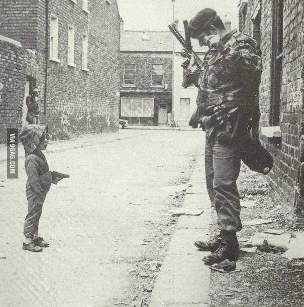 Pic Taken During Irish Troubles In The North