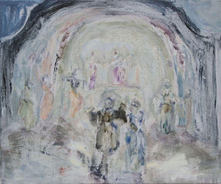Anita Naukkarinen, Dream Theater, 50 x 60, Oil on canvas
