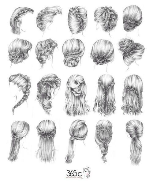 So many cute hair styles to pick from :)