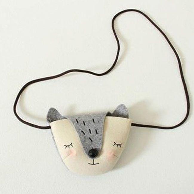 Overlap Animal Bag Series @rimini_shop http://www.rimini-shop.de/Greenberry-Tiertasche-Fuchs_2