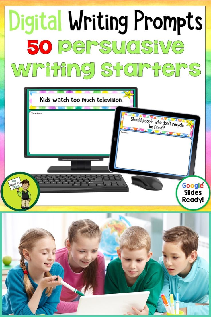 Go paperless with our Google Slides-ready persuasive writing prompts! Encourage independence with this easy to use writing activity pack featuring 50 persuasive argument writing prompts. This Google Resource will have your students writing persuasive arguments using Google Slides in no time! Explanation Writing Prompts for your digital classroom #persuasive writing #argument writing #persuasivewritingprompts #digitalargumentwriting #googledrive