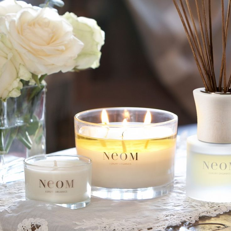 #NeomOrganics 100% Vegetable Wax Candles #naturalbeauty