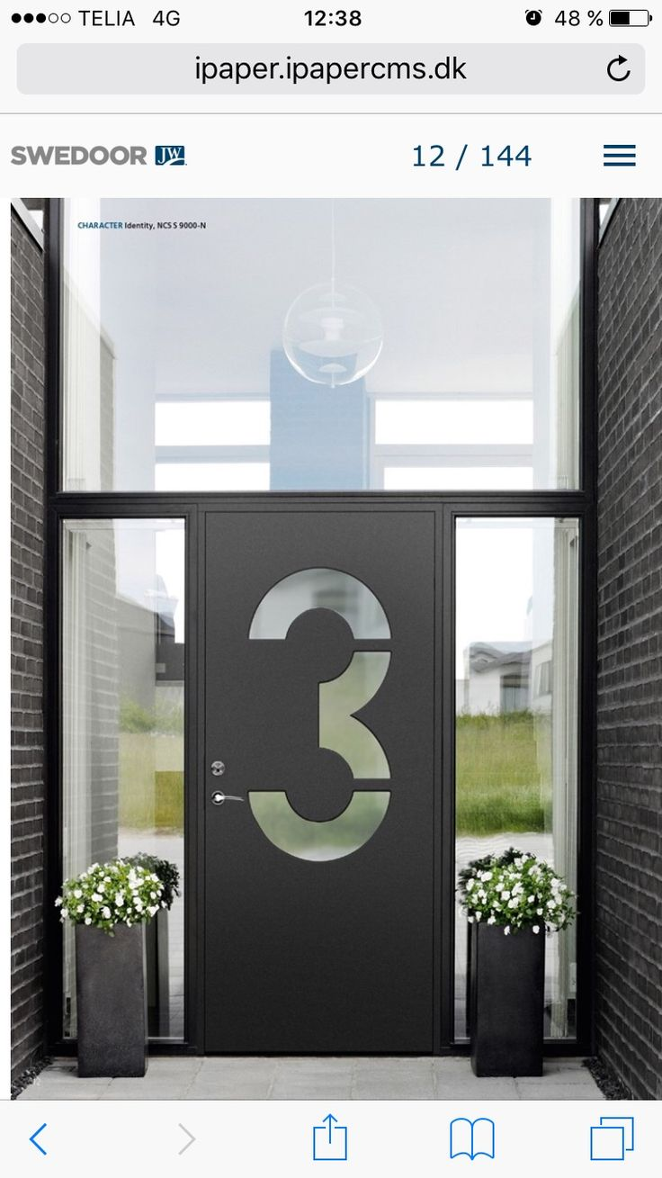 22 best Ytterdörr images on Pinterest | Front doors, Hall and Doors