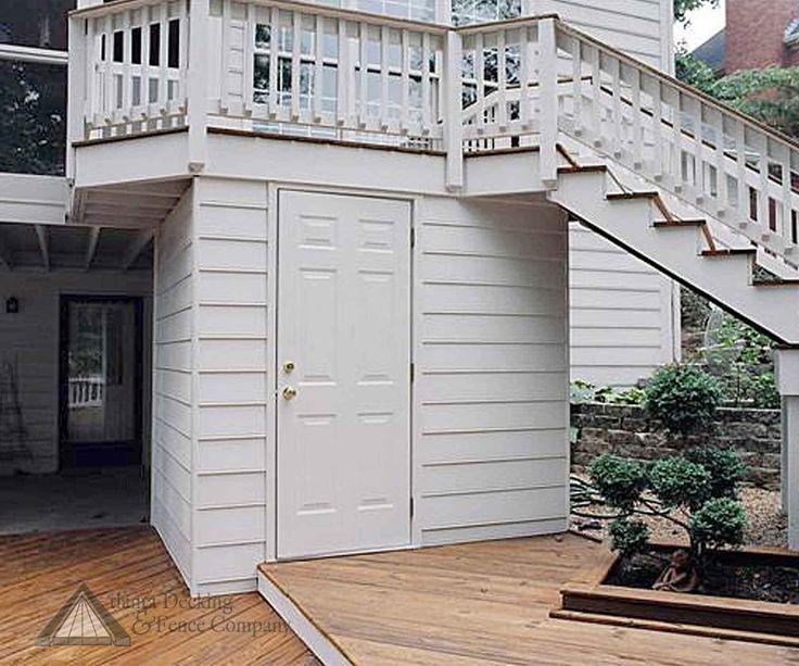 48 best under deck storage ideas images on pinterest | deck ... - Under Deck Patio Ideas