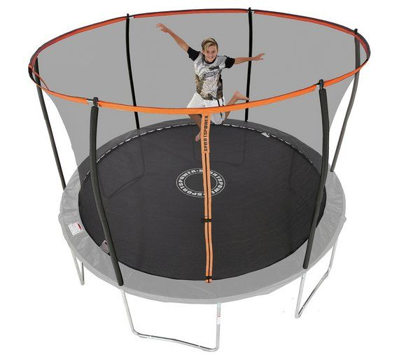 £199 Buy Sportspower 14ft Folding Trampoline at Argos.co.uk, visit Argos.co.uk to shop online for Trampolines and enclosures, Trampolines and accessories, Outdoor toys, Toys