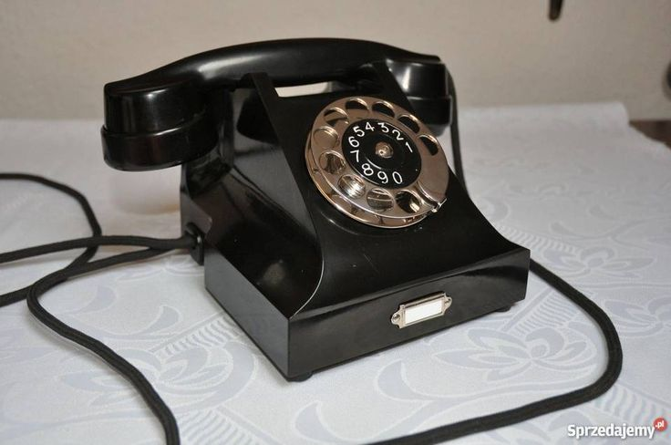 """Przedwojenny Polski Telefon """"Ericsson PASTy""""/ Kraków - Sprzedajemy.pl"""