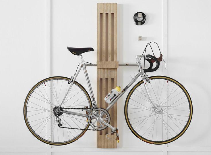 20 Minimalist bike storage ideas for tiny apartments                                                                                                                                                                                 More