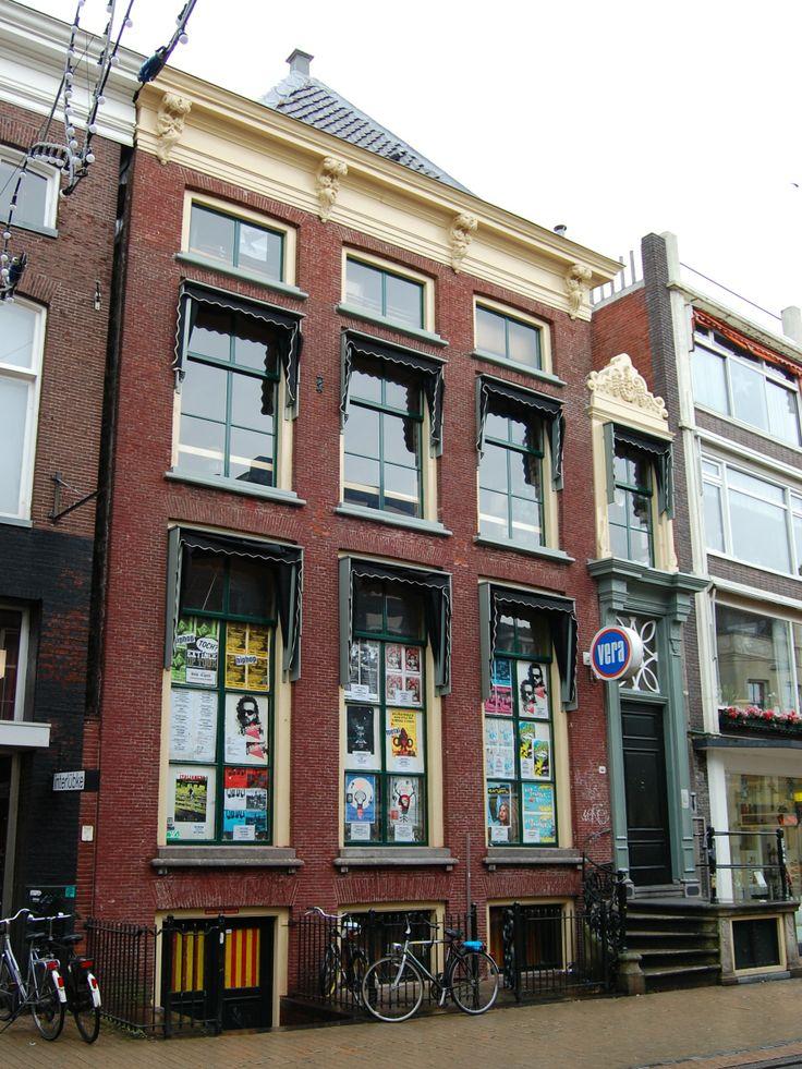 Poppodium Vera is gevestigd in een van de oudste panden van de Groninger binnenstad.