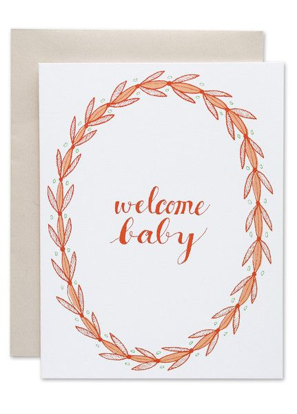 Welcome Baby Card | Sycamore Street Press