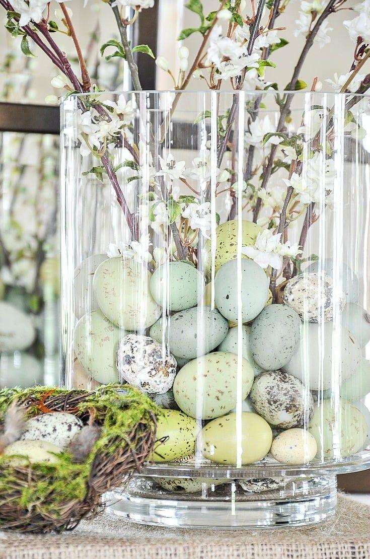 EASY EASTER ARRANGEMENT DIY - StoneGable  Easter centerpieces