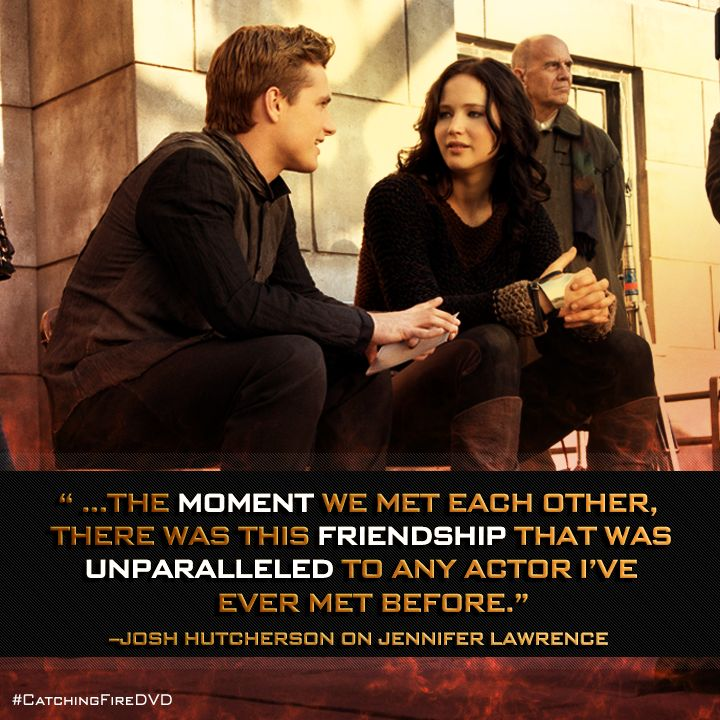 What does Josh Hutcherson think about co-star Jennifer Lawrence? They are the cutest