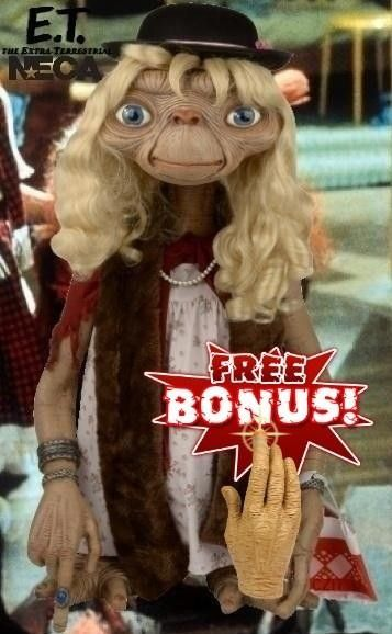 E.T. Extra Terrestrial Dressed-Up version Neca Stunt Puppet 1/1 Replica  - Collectiblezity Moviestore Things That Make You Happy!
