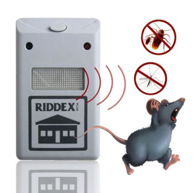 Electronic Ultrasonic Rat Mouse Repellent Anti Mosquito Repeller Rodent Pest Bug