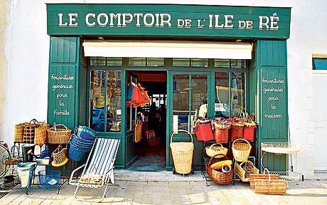 Ile de Re - A summer of sun, seafood and salt beds. And my Favourite shop ever...