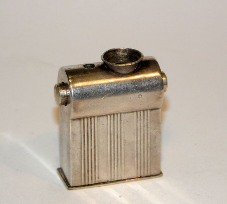 1947 french art deco L'OBELISQUE catalytic windproof silverplate briquet lighter | eBay