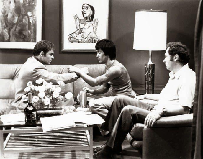Bruce Lee is explaining Dan Chi Sao to John Saxon  Martial Arts / Fitness in Woodstock GA & Towne Lake  http://www.atlantamartialartscenter.com/  Phone – 770-926-3030